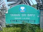 Taman Sri Bayu, Bagan Lalang, Sepang, Selangor.