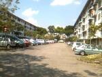 Puchong Perdana Flat, 4th Floor End unit.