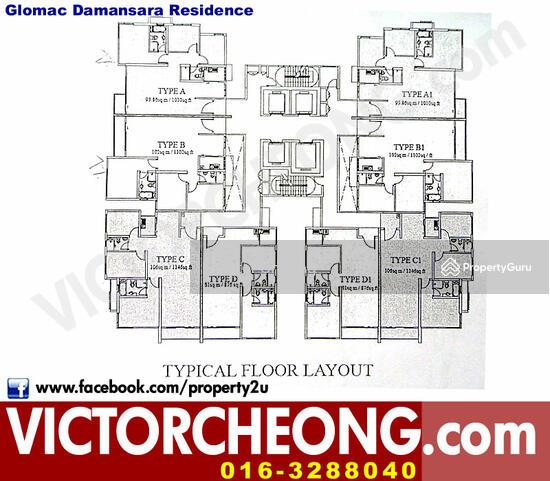 Glomac Residensi Damansara  123022499