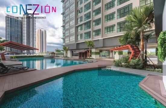 Conezion Residence Condo, 986sft FURNISHED IOI Resort City Putrajaya  134728575