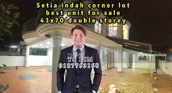 Setia indah corner lot  143127786