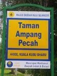 Taman Ampang Pecah, Kuala Kubu Bharu